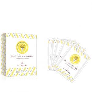 English Lavender Atkinsons Salviettine Profumate
