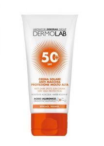 Dermolab Crema Solare Anti Macchia Viso e Collo SPF50+