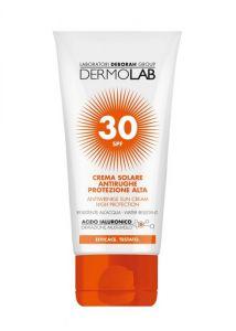 Dermolab Crema Solare Antirughe Viso e Collo SPF30