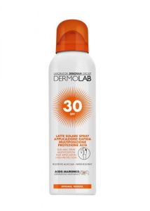 Dermolab Latte Solare Spray Viso e Corpo SPF30