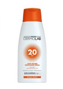 Dermolab Latte Solare Viso e Corpo SPF20