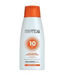 Dermolab Latte Solare Viso e Corpo SPF10