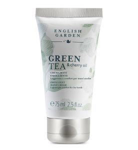 Green Tea & Cherry Oil - Crema Mani Emolliente