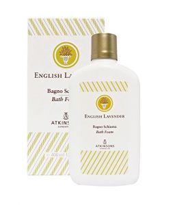 English Lavender Atkinsons Bagno Schiuma