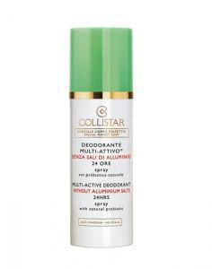 Collistar Deodorante Multiattivo 24 ore Spray Senza Sali di Alluminio