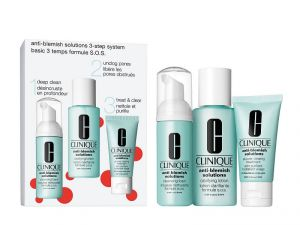 Clinique 3 Step System Anti-Blemish Solutions Clear Skin System