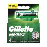 Gillette Mach 3 Sensitive 4 Lame