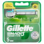 Gillette Mach 3 Sensitive 5 Blades