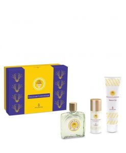 English-Lavender Atkinsons: Eau de Toilette 90 ml + Bagnoschiuma 150 ml + Deodorante 50 ml