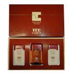 Ted Lapidus Pour Homme: Eau de Toilette 50 ml + Bagnoschiuma 50 ml + Shampoo 50 ml