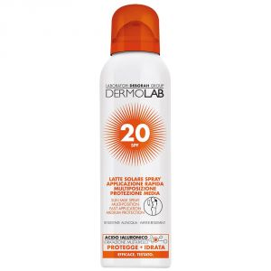 Dermolab Latte Solare Spray Viso e Corpo SPF 20