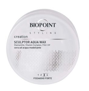 Biopoint Styling Creation Sculptor Aqua Wax (Fissaggio Forte 3)