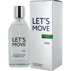 Let's Move Man BENETTON
