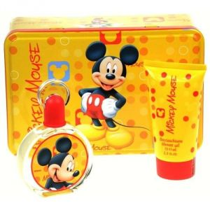 Mickey Mouse Kit: Profumo 50ml + Bagno Schiuma 75 ml