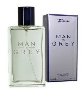 Morris Man in Grey