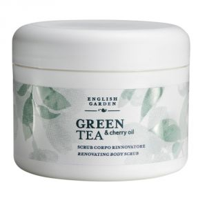 Green Tea & Cherry Oil - Renewed Body Scrub