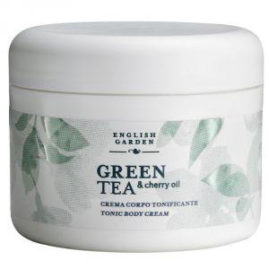 Green Tea & Cherry Oil - Toning Body Cream