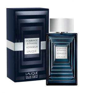 Hommage AL'HOMME Voyageur Lalique